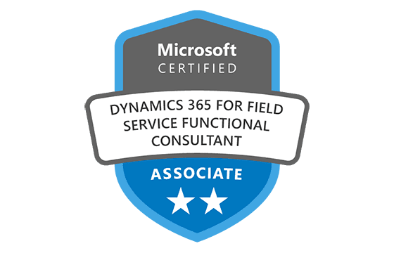 Microsoft Certified: Dynamics 365 Field Service Functional Consultant Associate Exams