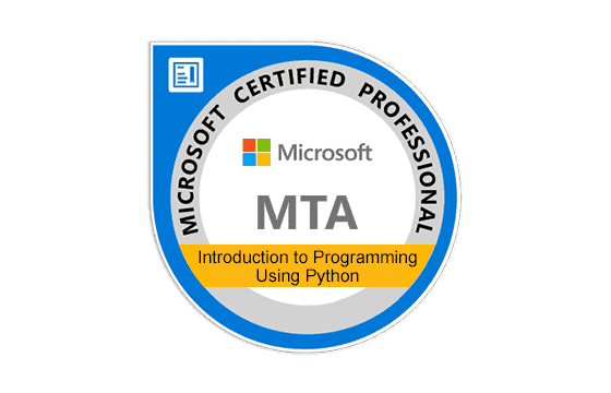 MTA: Introduction to Programming Using Python Exams