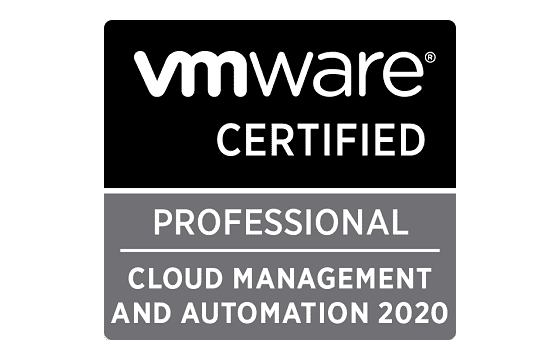 VMware Certified Professional - Cloud Management and Automation 2020 Exams