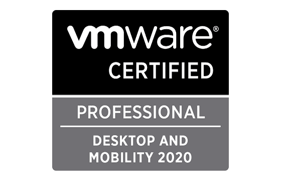VMware Certified Professional - Desktop and Mobility 2020 Exams
